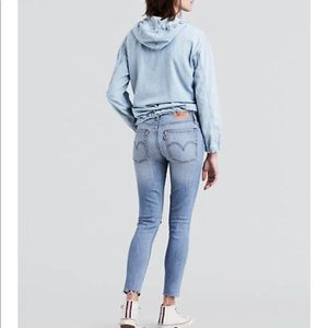 Levi's Jeans - Levi's Wedge Skinny Button Fly Jeans